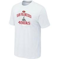 Men's San Francisco 49ers Super Bowl XLVII Heart & Soul T-Shirt White