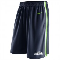 Men's Seattle Seahawks College Navy Epic Team Logo Shorts