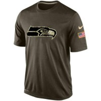 Men's Seattle Seahawks Salute To Service Nike Dri-FIT T-Shirt