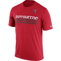 Men's Tampa Bay Buccaneers Nike Practice Legend Performance T-Shirt Red