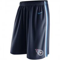 Men's Tennessee Titans Navy Epic Team Logo Shorts