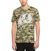 Men's Washington Redskins '47 Camo Alpha T-Shirt