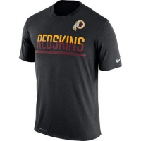 Men's Washington Redskins Nike Practice Legend Performance T-Shirt Black