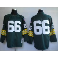 Mitchell & Ness Packers #66 Ray Nitschke Green Stitched Throwback NFL Jersey