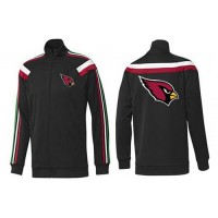 NFL Arizona Cardinals Team Logo Jacket Black_2