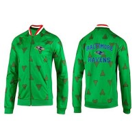 NFL Baltimore Ravens Heart Jacket Green
