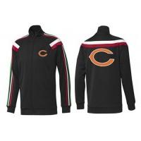 NFL Chicago Bears Team Logo Jacket Black_1
