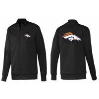 NFL Denver Broncos Team Logo Jacket Black_1