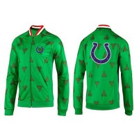 NFL Indianapolis Colts Team Logo Jacket Green