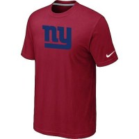 NFL New York Giants Sideline Legend Authentic Logo T-Shirt Red