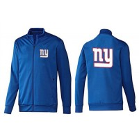 NFL New York Giants Team Logo Jacket Blue_2