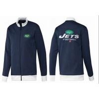NFL New York Jets Victory Jacket Dark Blue