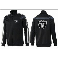 NFL Oakland Raiders Team Logo Jacket Black_3