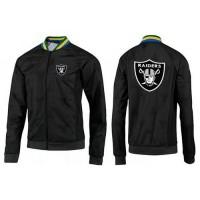 NFL Oakland Raiders Team Logo Jacket Black_4