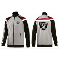 NFL Oakland Raiders Team Logo Jacket Grey