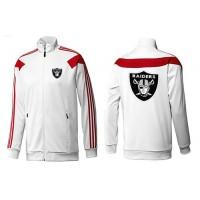 NFL Oakland Raiders Team Logo Jacket White_2