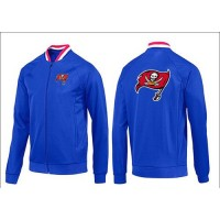 NFL Tampa Bay Buccaneers Team Logo Jacket Blue_1