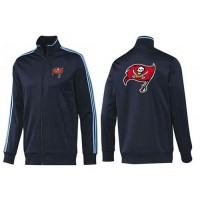 NFL Tampa Bay Buccaneers Team Logo Jacket Dark Blue