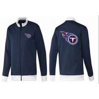 NFL Tennessee Titans Team Logo Jacket Dark Blue_1