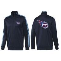 NFL Tennessee Titans Team Logo Jacket Dark Blue_2