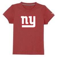 New York Giants Sideline Legend Authentic Logo Youth T-Shirt Red