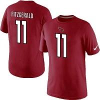 Nike Arizona Cardinals #11 Larry Fitzgerald Pride Name & Number NFL T-Shirt Red