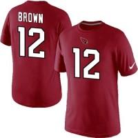 Nike Arizona Cardinals #12 John Brown Pride Name & Number NFL T-Shirt Red