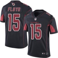 Nike Arizona Cardinals #15 Michael Floyd Black Men's Stitched NFL Limited Rush Jersey