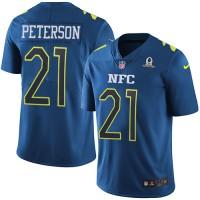 Nike Arizona Cardinals #21 Patrick Peterson Navy Men's Stitched NFL Limited NFC 2017 Pro Bowl Jersey