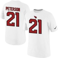 Nike Arizona Cardinals #21 Patrick Peterson Pride Name & Number NFL T-Shirt White
