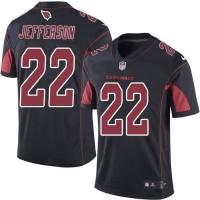 Nike Arizona Cardinals #22 Tony Jefferson Black Men's Stitched NFL Limited Rush Jersey