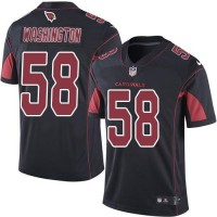 Nike Arizona Cardinals #58 Daryl Washington Black Men's Stitched NFL Limited Rush Jersey