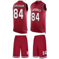 Nike Arizona Cardinals #84 Jermaine Gresham Red Team Color Men's Stitched NFL Limited Tank Top Suit Jersey