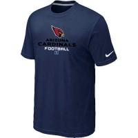 Nike Arizona Cardinals Big & Tall Critical Victory NFL T-Shirt Midnight Blue