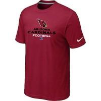 Nike Arizona Cardinals Big & Tall Critical Victory NFL T-Shirt Red