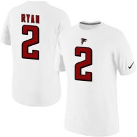 Nike Atlanta Falcons #2 Matt Ryan Pride Name & Number NFL T-Shirt White