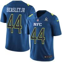 Nike Atlanta Falcons #44 Vic Beasley Jr Navy Men's Stitched NFL Limited NFC 2017 Pro Bowl Jersey