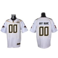 Nike Atlanta Falcons Customized White 2016 Pro Bowl Men's Stitched NFL Elite Jersey