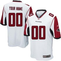 Nike Atlanta Falcons Customized White Stitched Elite Youth NFL Jersey