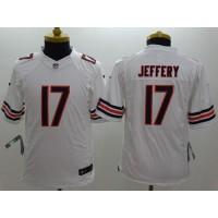 Nike Bears #17 Alshon Jeffery White Youth Stitched NFL Limited Jersey