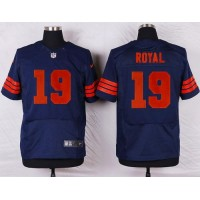 Nike Bears #19 Eddie Royal Navy Blue 1940s Throwback Men's Stitched NFL Elite Jersey