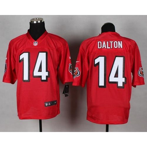Nike Bengals #14 Andy Dalton Red Men's Stitched NFL Elite QB  free shipping