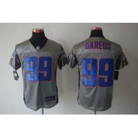 Nike Bills #99 Marcell Dareus Grey Shadow Men's Stitched NFL Elite Jersey