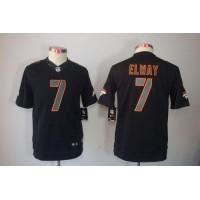 Nike Broncos #7 John Elway Black Impact Youth Stitched NFL Limited Jersey