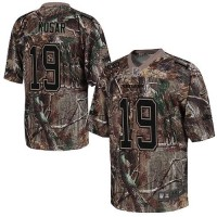 Nike Browns #19 Bernie Kosar Camo Men's Stitched NFL Realtree Elite Jersey