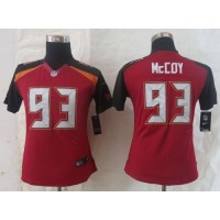 Nike Buccaneers #93 Gerald McCoy Red Team Color Women's Stitched NFL New Limited Jersey