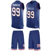 Nike Buffalo Bills #99 Marcell Dareus Royal Blue Team Color Men's Stitched NFL Limited Tank Top Suit Jersey