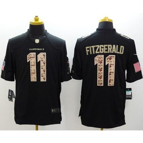 quality design fabe2 52912 Nike Cardinals #11 Larry Fitzgerald Black Men's Stitched NFL ...