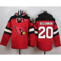 Nike Cardinals #20 Deone Bucannon Red Player Pullover NFL Hoodie