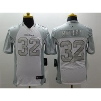 7a7611b43 ... cheapest nike cardinals 32 tyrann mathieu white mens stitched nfl  limited platinum jersey b215c c9017